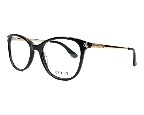 Guess Unisex-Erwachsene GU2632 005 52 Brillengestelle, Schwarz (Nero), - Guess Frames Brille