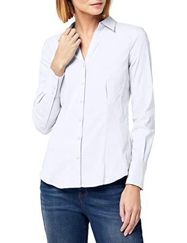 More & More Damen Bluse, Billa, Weiß (White 0010), 36 Preisvergleich