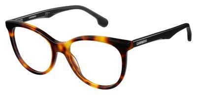 Carrera Damen 5545/V 555 52 Sonnenbrille, Schwarz (Lthavn Black),