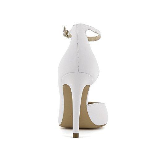 Evita Shoes Alina, Scarpe col tacco donna Bianco