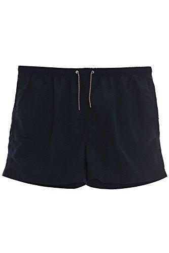 Kitaro Badeshort Badehose Herren Short Übergröße Plusgröße, Farbe:Marine (Navy);Herrengrößen:4 XL