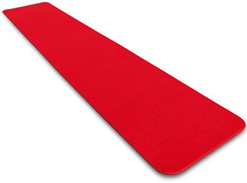 House, Home und Mehr Rot Teppich Gang Läufer-Viele Anderen Größen zur Auswahl Casual 3-Feet X 40-Feet Rot - Gang Hochzeit Rot Läufer