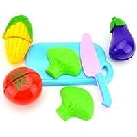 IMBSB Juego de rol Reutilizable de Taza Vegetal y Vegetal de Vegetales Juego de Juguetes de Cocina para Niños