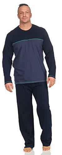 Schiesser Herren Schlafanzug Pyjama lang S103 (56/XXL)