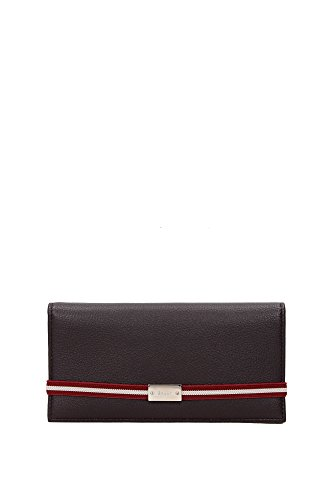 wallets-bally-men-leather-chocolate-red-white-and-silver-meby101chocolate-brown-9x185-cm