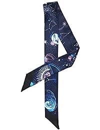 Felix   SiLK Mujer Niña Universo Planeta Bufanda Fulares Bufanda de Cuello  Diademas Pañuelo para la e2638b14178