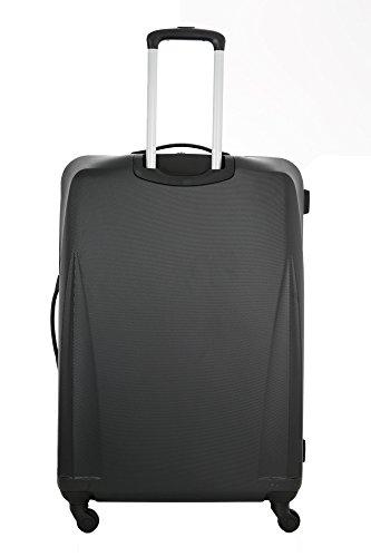 31y2TdEaYcL - 5 Cities de Carry Ligera ABS duro viaje Shell En la cabina de equipaje de mano Maleta con 4 ruedas, aprobados por Ryanair, Easyjet, British Airways, Jet2, Monarch (3PCS)