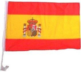 Spanische Fahne fürs Auto