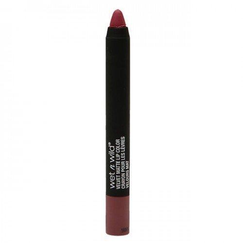 Wet n Wild Naked Protest Velvet Matte Lip Color A364 Charred Cherry by Wet n Wild Beauty