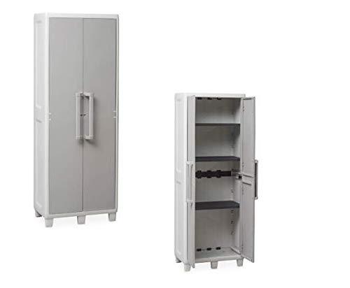 Mecánico de plástico MEC343 Aramadio, muebles, alto, 65 x 38 x 178...