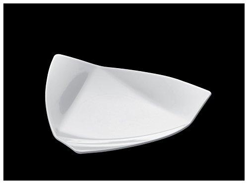 Gold Plast-Voile-50 Soucoupe par paquet 85x85 mm blanc
