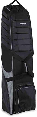 Bag Boy t-750Rädern Travel Cover, Unisex, T-750 Wheeled Travel Cover, Schwarz/Charcoal -