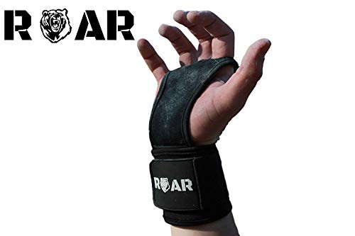 guanti calisthenics Roar - Guanti Crossfit in Pelle Sintetica Paracalli per Palestra