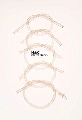 H&C 5 Jura Milchschlauch + 1 x Jura Anschlussnippel für das Cappucinatore Milchaufschäumer