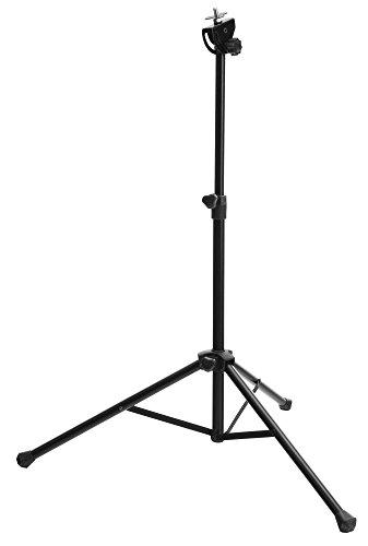 XDrum PPS-1Practice Pad Ständer mit Tasche (Stativ für Übungspad, kompakt, leicht, Kopfwinkel verstellbar, Gewinde M8) schwarz