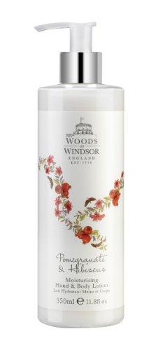 Boschi di Windsor Melograno e ibisco - mano e crema per il corpo