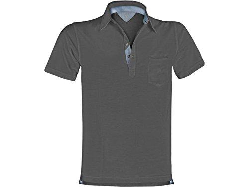 ATELIER DEL RICAMO Herren Poloshirt * Einheitsgröße Cenere