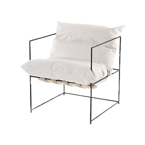Sillones Salón silla de hierro Brazo moderna sala de estar ...