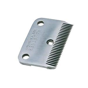Hauptner 86872000 Standard-Unterkamm 28 Zähne Schnitthöhe 3 mm (Pferd), Silber