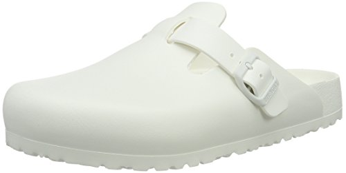 Birkenstock Unisex-Erwachsene Boston Eva White Clogs Weiß (White)