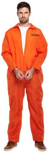 Mens Prisonnier Salopette Robber américain US Convict Prison Break Robe du soir Co