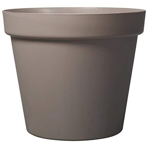Deroma pot grandé - 70x70x58,7cm - 150l - taupe