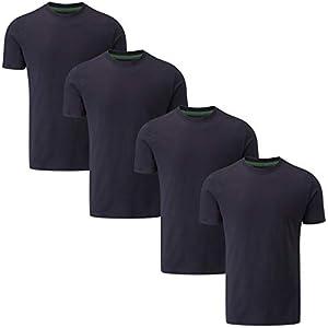 Charles Wilson 4er Packung T-Shirts mit Rundhalsausschnitt