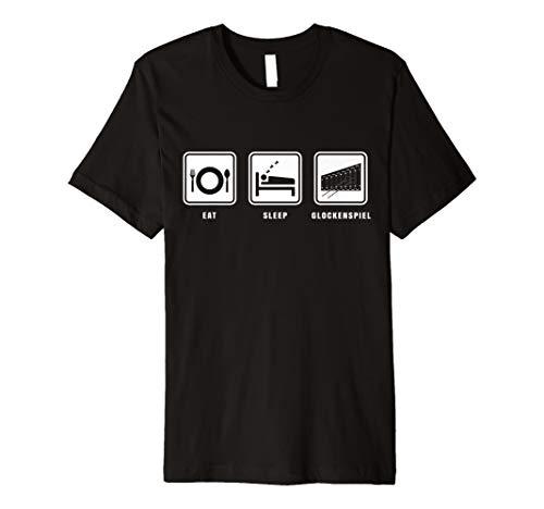 Eat Sleep Xylophon Spieler Lehrer Xylofon T-Shirt I Geschenk