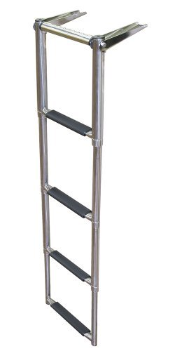 jif-marine-eqb4-over-platform-telescoping-boat-ladder-4-step-by-jif-marine