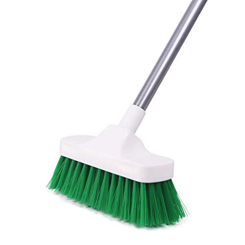 Reinigungsbürste Versenkbare Bürste mit langem Griff Borsten Küchenbürste für den Boden Bodenbürste für den Außenbereich