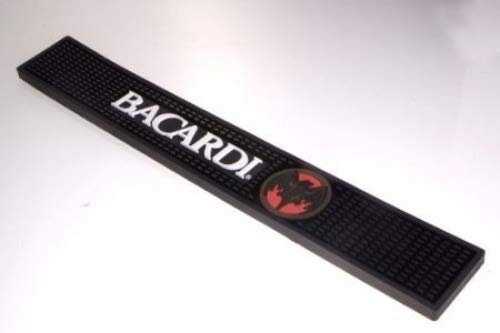 Bacardi Rum Bar Rail Drip Mat by Bacardi