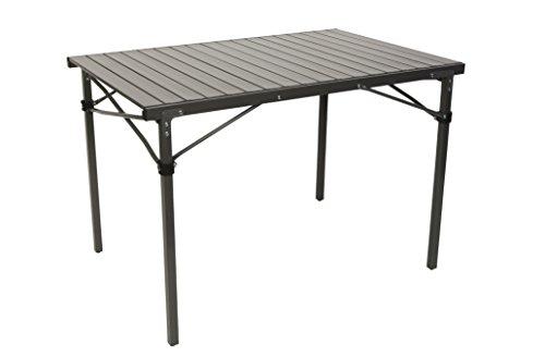 Bo Camp Table De Camping Noir 108 X 70 X 70 Cm
