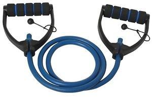 Vector X JF-1100 Heavy Adjustable Latex D Handles Tube Exerciser (Blue)