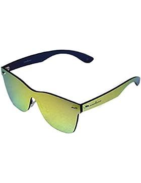 amoloma estilo sin marco sin rebordes de las gafas de sol Wayfarer