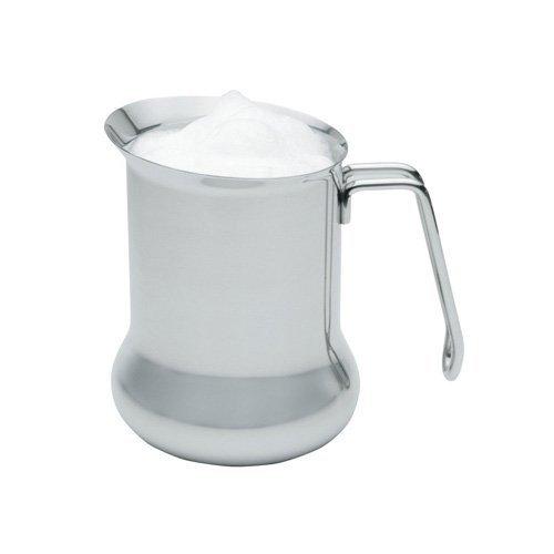 LE'XPRESS Aufschäum-Milchkännchen Le Xpress 650ml aus Edelstahl in Silber, 12 x 17 x 22 cm