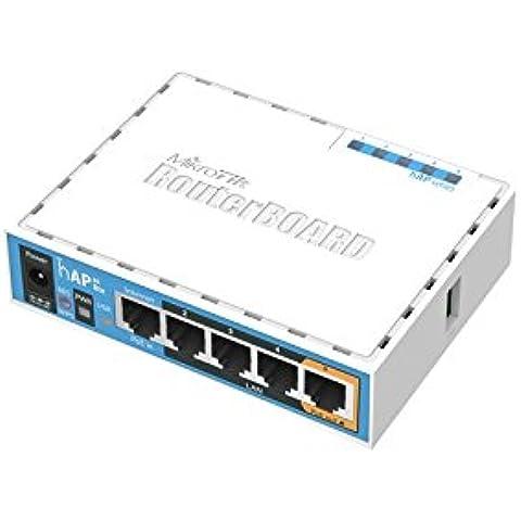 Mikrotik HAP ac lite 500Mbit/s Energía sobre Ethernet (PoE) Color blanco - Punto de acceso (30 - 70 °C, IEEE 802.11a, IEEE 802.11ac, IEEE 802.11b, IEEE 802.11g, IEEE 802.11n, Color blanco)