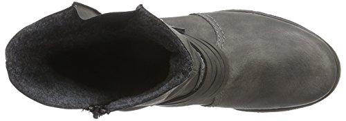 Rieker - 79699, Stivali Donna Grigio (Basalt)
