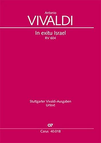 In exitu Israel (Partitur): RV 604