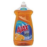 Ajax Cpc49860 Dish Detergent Liquid Antibacterial Orange 52 Oz Bottle