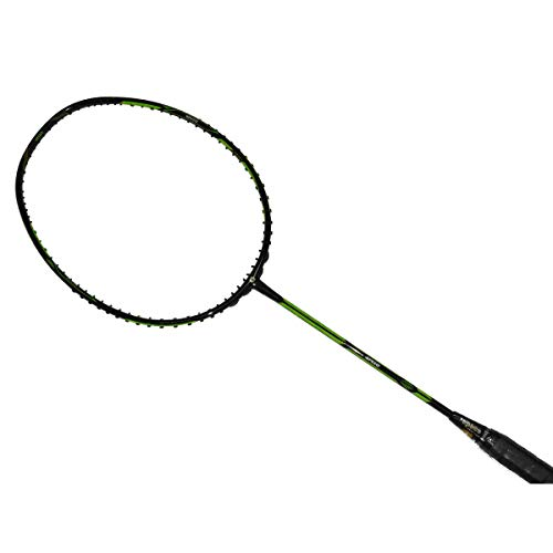 5. APACS Dual Power Speed Version Black Badminton Racket