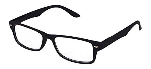 Faddish Rectangular Unisex Sunglasses - (BO58UNPMTBCND 50 Transparent)