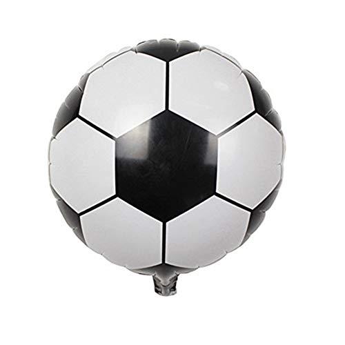 Xiton 3Pcs Fußball Luftballons Sport-Thema-Partei Luftballons Kit Dekorationen Fußball-Tor Party Supplies Ballon 18