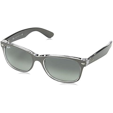 Ray-Ban - New Wayfarer, Occhiali da sole, unisex - Gunmetal Moda