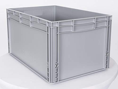 """Eurobehälter 3er Set \""""Auer\"""" - EG 64/32 Eurobox Euro-Stapelbehälter geschlossen Lagerbox Kunststoffbehälter Transportkasten"""