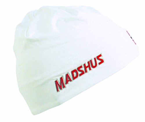 Madshus Mütze LYCRA RACE HAT weiß M 1803020.3.1.M Damen Herren Winter Sportlermütze Sport Haube Skifahren Langlaufen