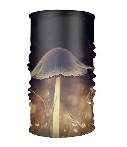 Women Headband Boho Mushroom Light Glow Style Head Wrap Hair Band
