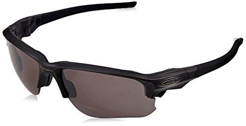 Oakley Herren Flak Draft Sonnenbrille, Schwarz (Matte Black/Prizmdailypolarized), 67