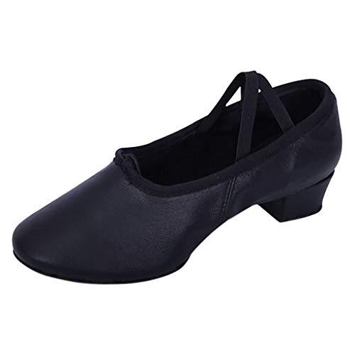 MOIKA Frauen Tanzschuhe, Soft Bottom Cat Claw Schuhe Lehrer Soles Ballettschuhe Kinder Erwachsene Dame Schuhe Ballsaal Latin Schuhe -
