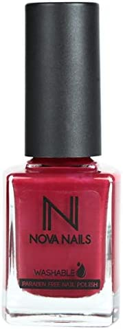 Nova Washable Nail Polish - 81 Red Carpet, 0.37 oz.