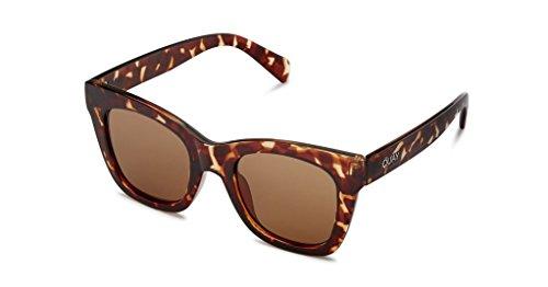 Quay Eyewear Unisex-Erwachsene Sonnenbrille After Hours, Black/Smoke, 145